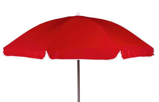 Billede af Parasol Ø: 200 cm. - Rød