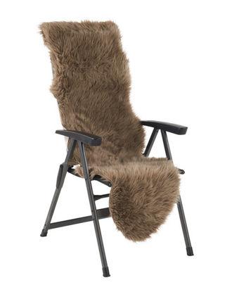 Billede af Pelsskind til stol / relax / drømmeseng - Brun