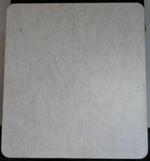 Billede af Bordplade - Marmorfarvet 72 x 81 cm. (Brugt)