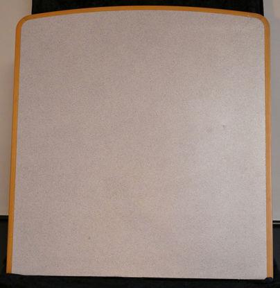 Billede af Bordplade - Grålig 75 x 80 cm. (Brugt)