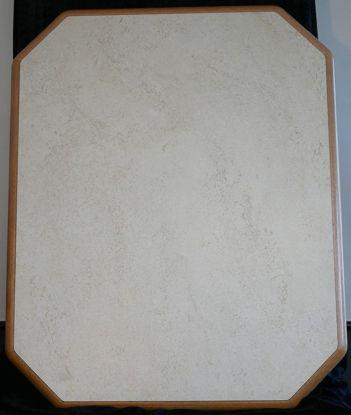 Billede af Bordplade - off-white 90 x 73 cm. (Brugt)