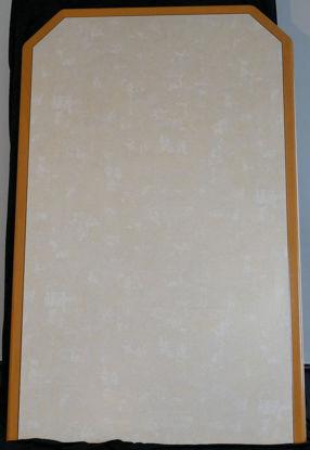 Billede af Bordplade - lys sandfarvet  110 x 70 cm. (Brugt)
