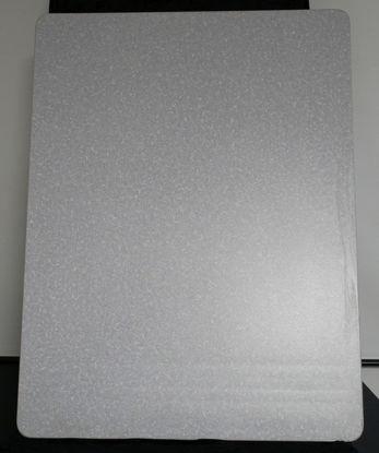 Billede af Bordplade - lysegrå meleret - 83 x 112 cm. (Brugt)