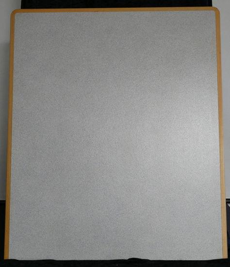 Billede af Bordplade - lys grå - 75 x 90 cm. (Brugt)
