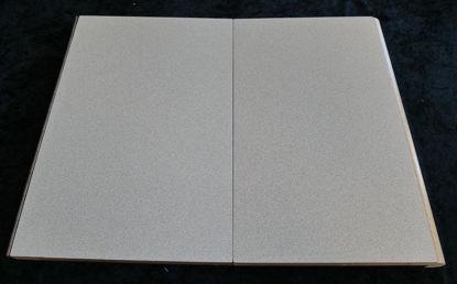Billede af Køkken Bordplade - lys småmeleret - 38 x 25,5 cm. (Brugt)