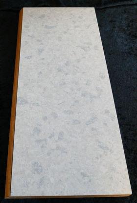Billede af Køkken Bordplade - sandfarvet meleret - 54 x 24 cm.