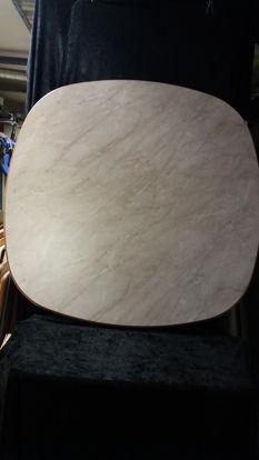 Billede af Bordplade - sandfarvet 94,5 x 94,5 cm (Brugt)