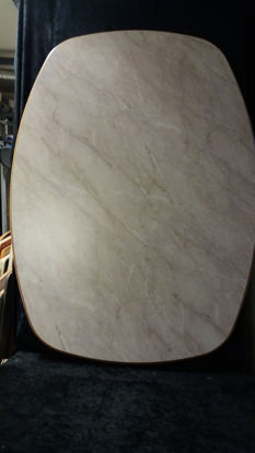 Billede af Bordplade - sandfarvet 77,5 x 108 cm (brugt)