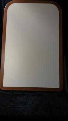 Billede af Bordplade - hvid 68 x 106 cm. (brugt)