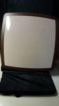 Billede af Bordplade - sandfarvet 84 x 84 cm. (Brugt)