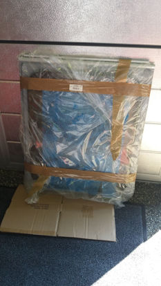 Billede af Brugt vindue 56,5 x 67,5 cm.