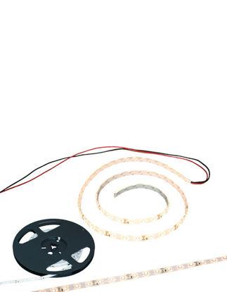 Billede af Lysbånd 12V / 1m. med kabel og 3M tape