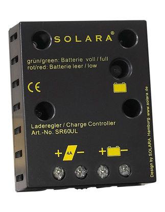 Billede af Regulator til solcelle / 12V / 4A 240 Wh/T/ 60Wp