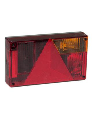Billede af Trailerbaglygte højre med indbygget trekantrefleks
