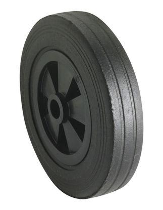 Billede af Hjul m. plastfælg 200x50 mm